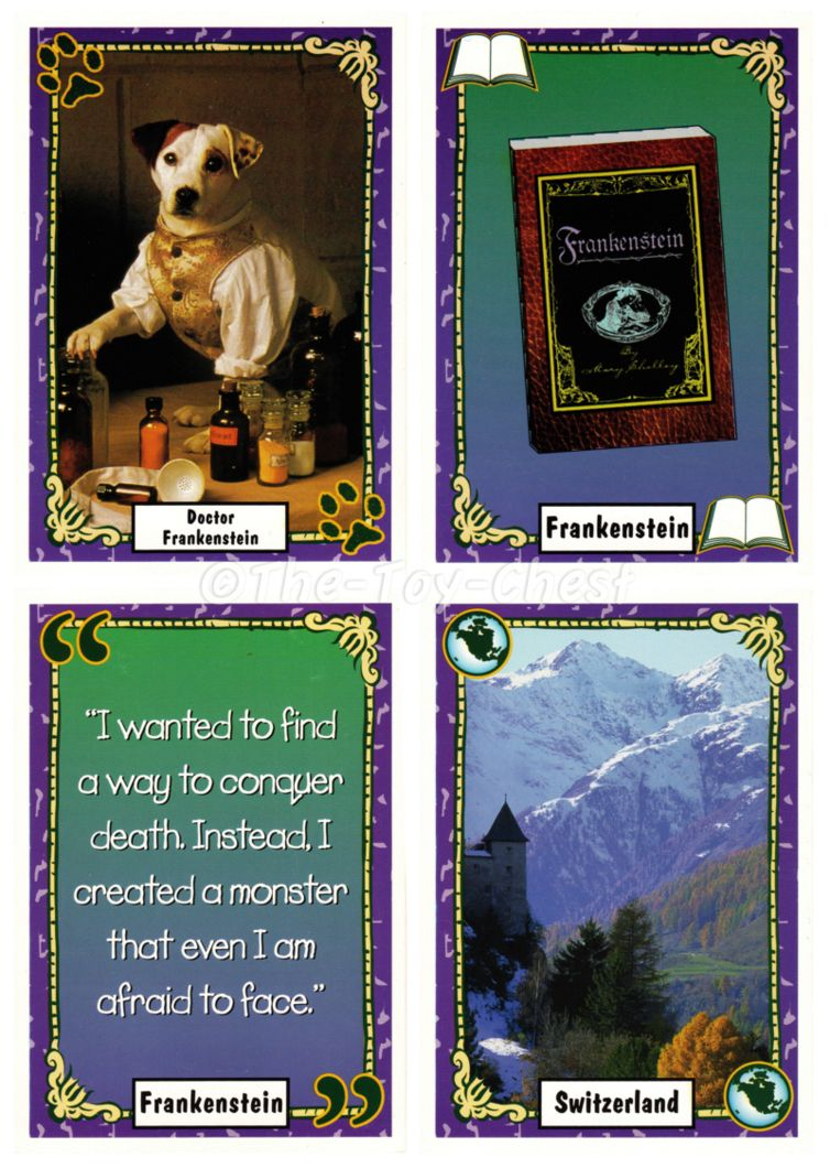 Wishbone card game! Kids tv