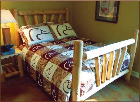 Ducks Unlimited Collection Camo Square Comforter Set At