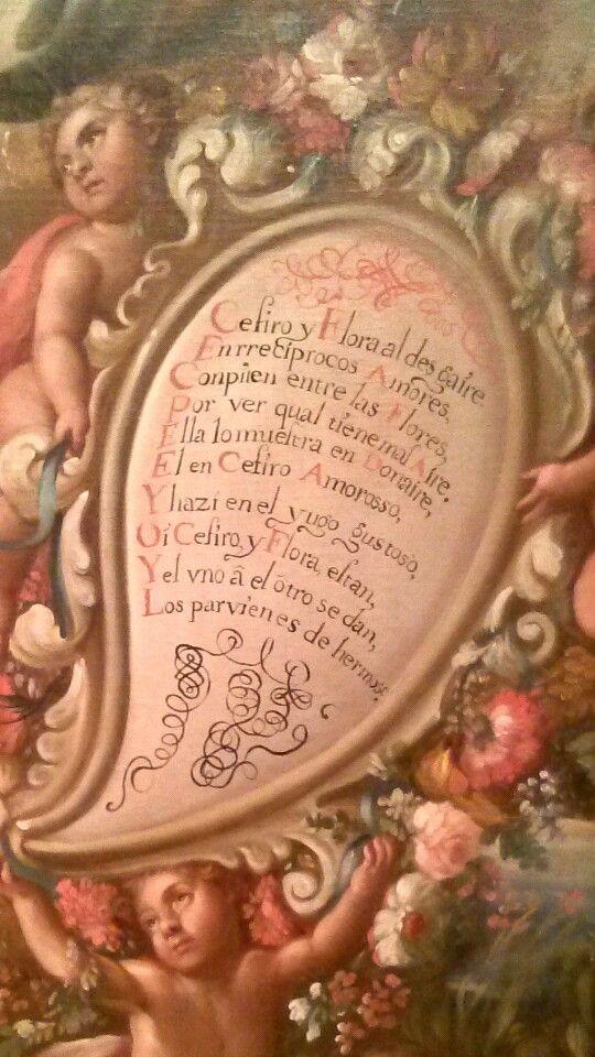 Antiguo poema en latin, del viento y la naturaleza