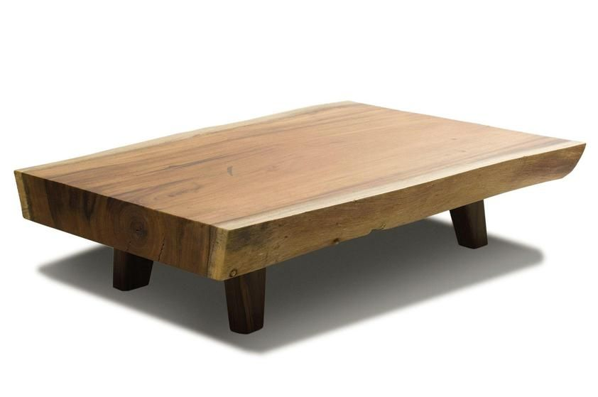 Interior Minimalist Design Of Rectangular Brown Wooden Coffee Tables With Short Four Wooden Legs Some Sim Coffee