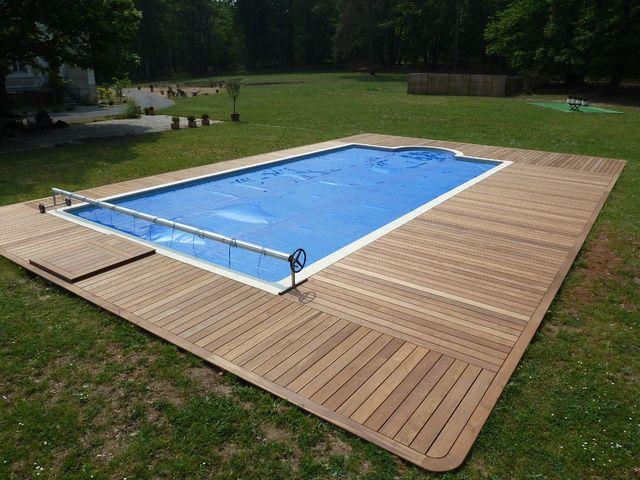 piscine terrasse bois bardage bois