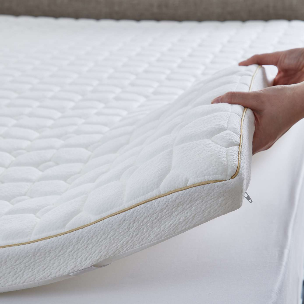 Dorma Tencel Blend Memory Foam Mattress Topper In 2020 Memory Foam Mattress Topper Foam Mattress Mattress Topper