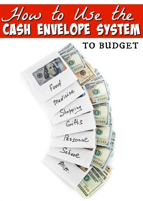 How To Use The Cash Envelope Budget System  Cash Envelope System