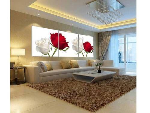 Decoracion de salas modernas con cuadros decoraci n del - Cuadros para casas modernas ...