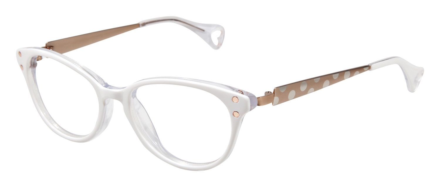 Betsey Johnson Ombre Minnie BJ 0148 Eyeglasses | Free Shipping