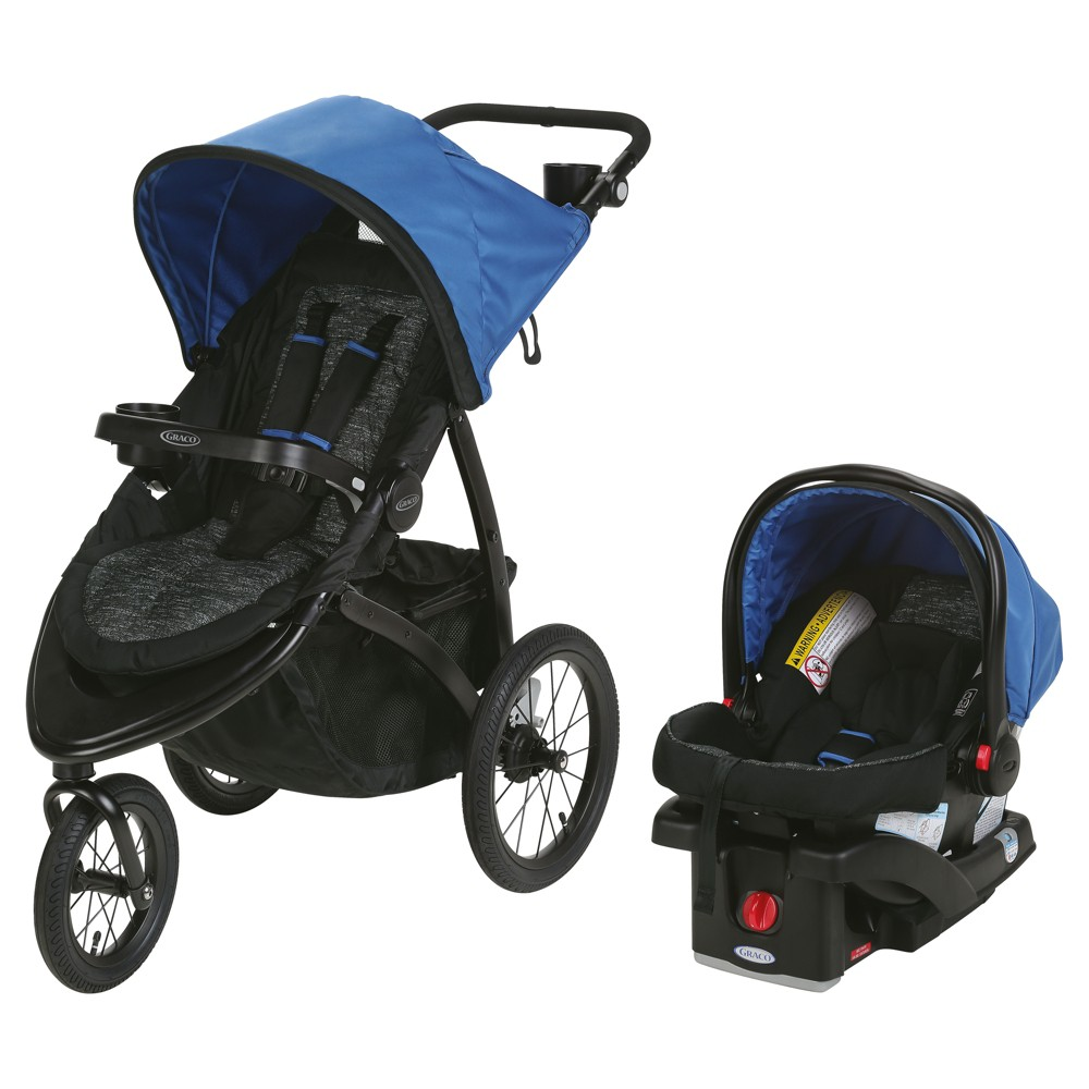 Graco Roadmaster Jogger Travel System Blakley, Black