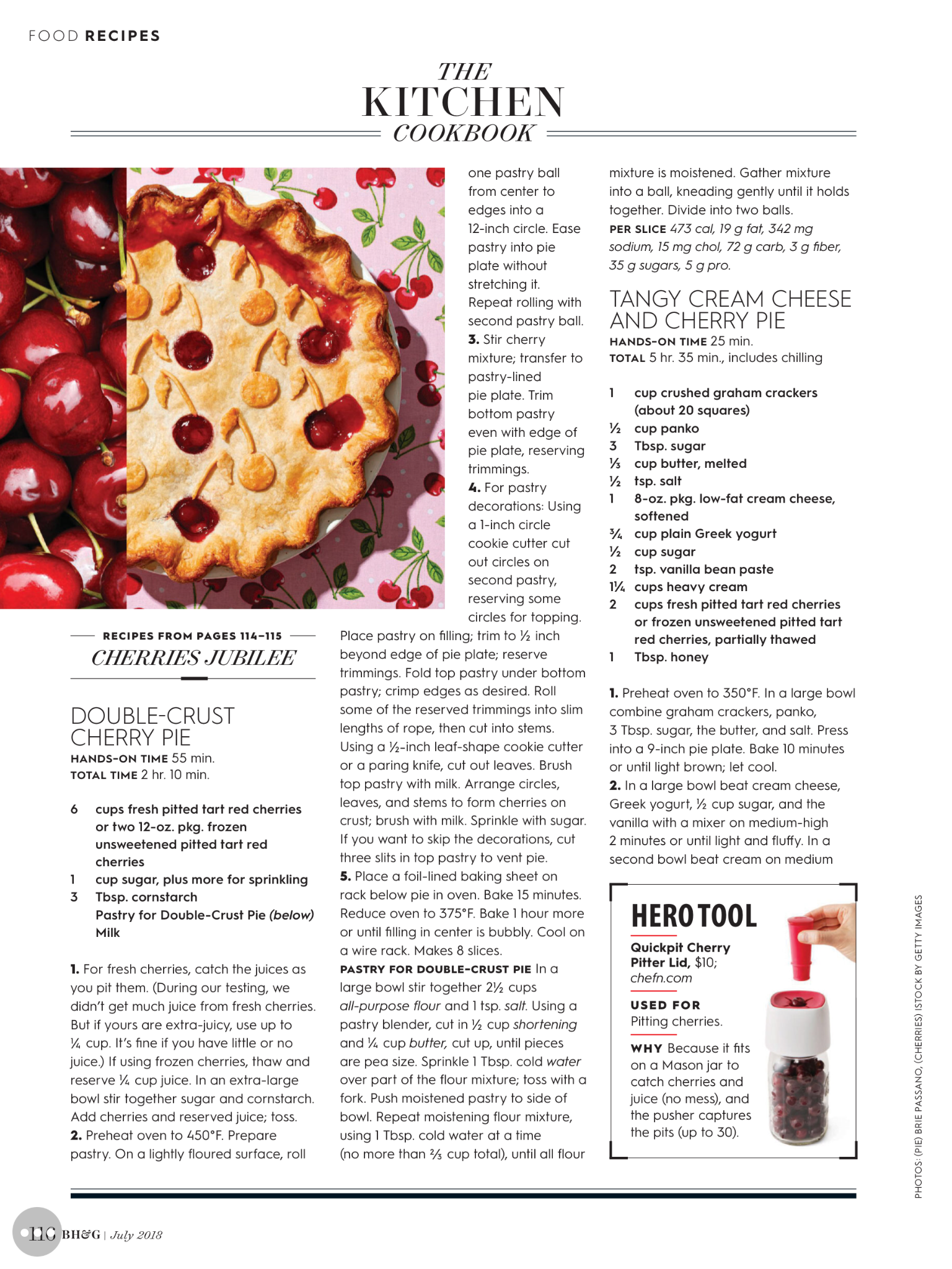 7bfecf4f196b643eb2d9fb4924480087 - Better Homes And Gardens Cherry Pie Recipe