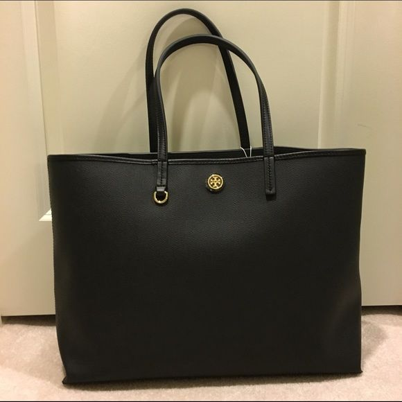 658456949fe Black Tory Burch Cameron large tote bag Brand new! 100% authentic ...