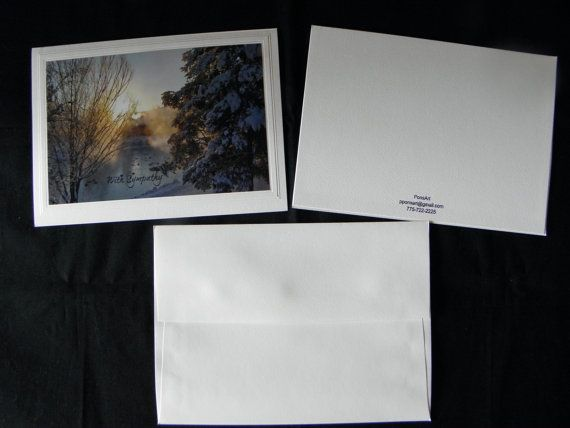 Photo Greeting Card Sample Featuring The Quot Classic Embossed Border Quot Front And Back Plus The Co Photo Greeting Cards Greeting Note Cards Note Cards
