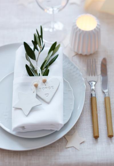 Weihnachtliche Tischdeko Dezent In Pastell Individuelle
