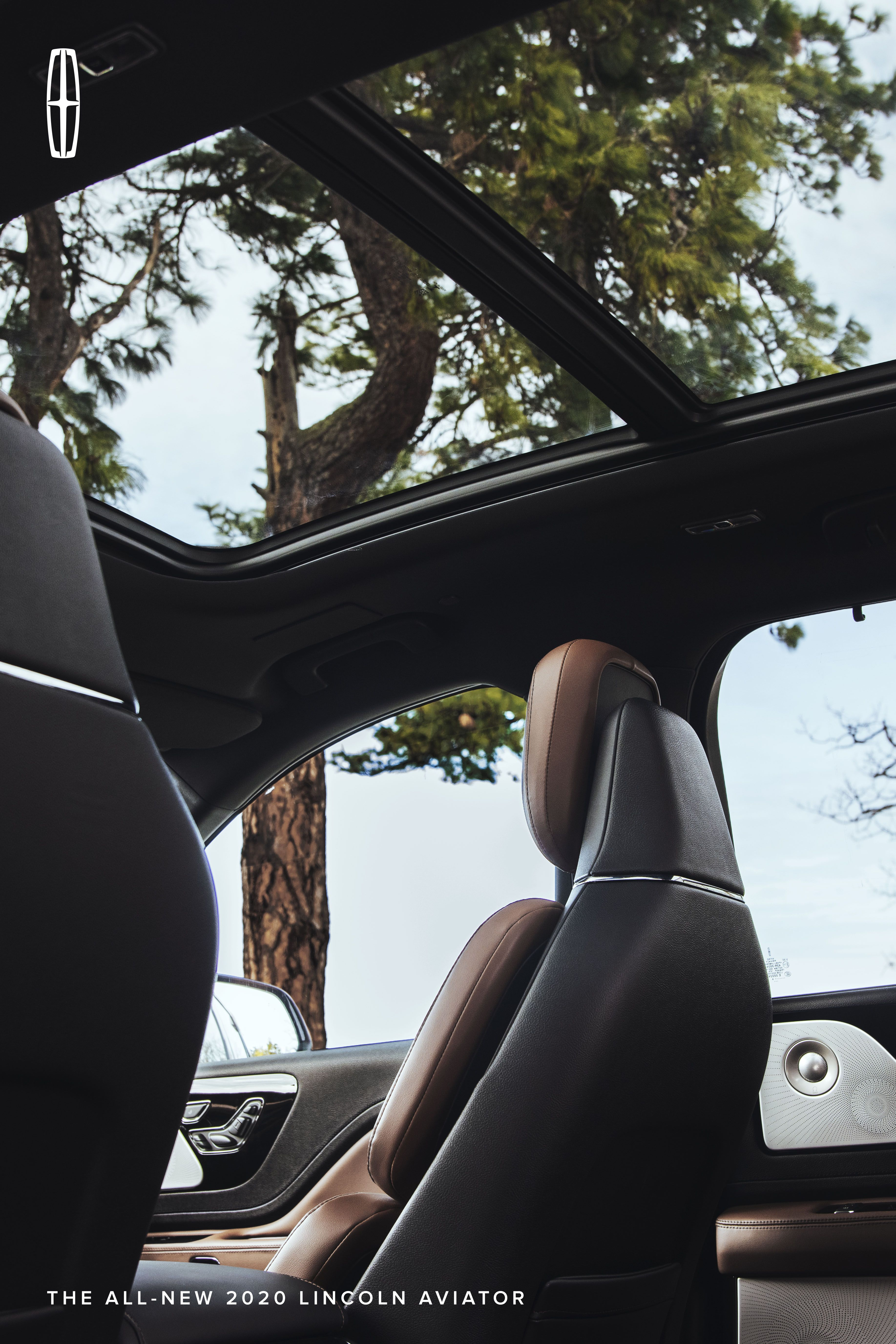 The Interior Of The Aviator Suv Is A Sanctuary Crafted With