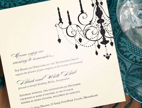 On the brides shopping list wedding invitations that are unique