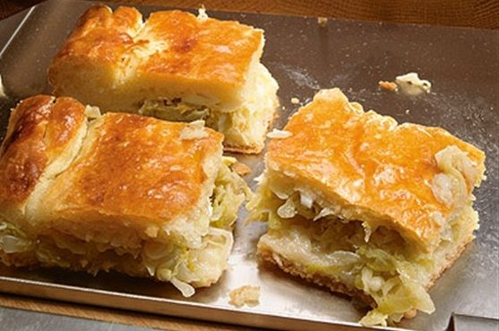 Капустный пирог рецепт на кефире