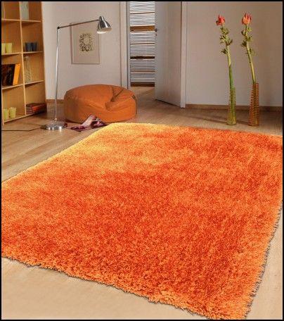 Orange Fluffy Rug Orange Rugs Orange Area Rug Area Rugs