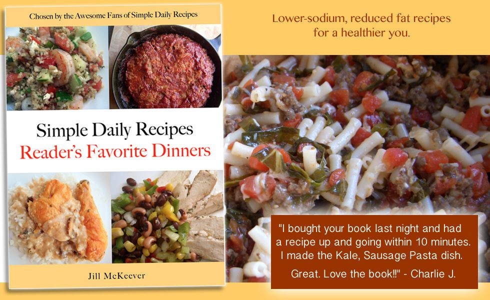 Simple Daily Recipes Reader's Favorite Dinners « Simple Daily RecipesSimple Daily Recipes