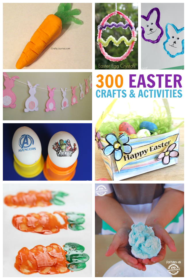 The biggest collection of Easter crafts and activities. There are over 300 amazing ideas here!