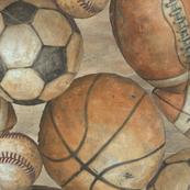 Be The Ball Sports Baseball Football Soccer And Basketball By Aaron Christensen Sports Baseball Sports Wall Art Soccer