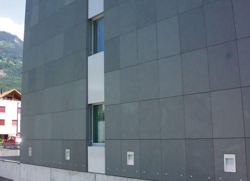revestimiento de fachada de pizarra / mate / en placas TORRE CROWN