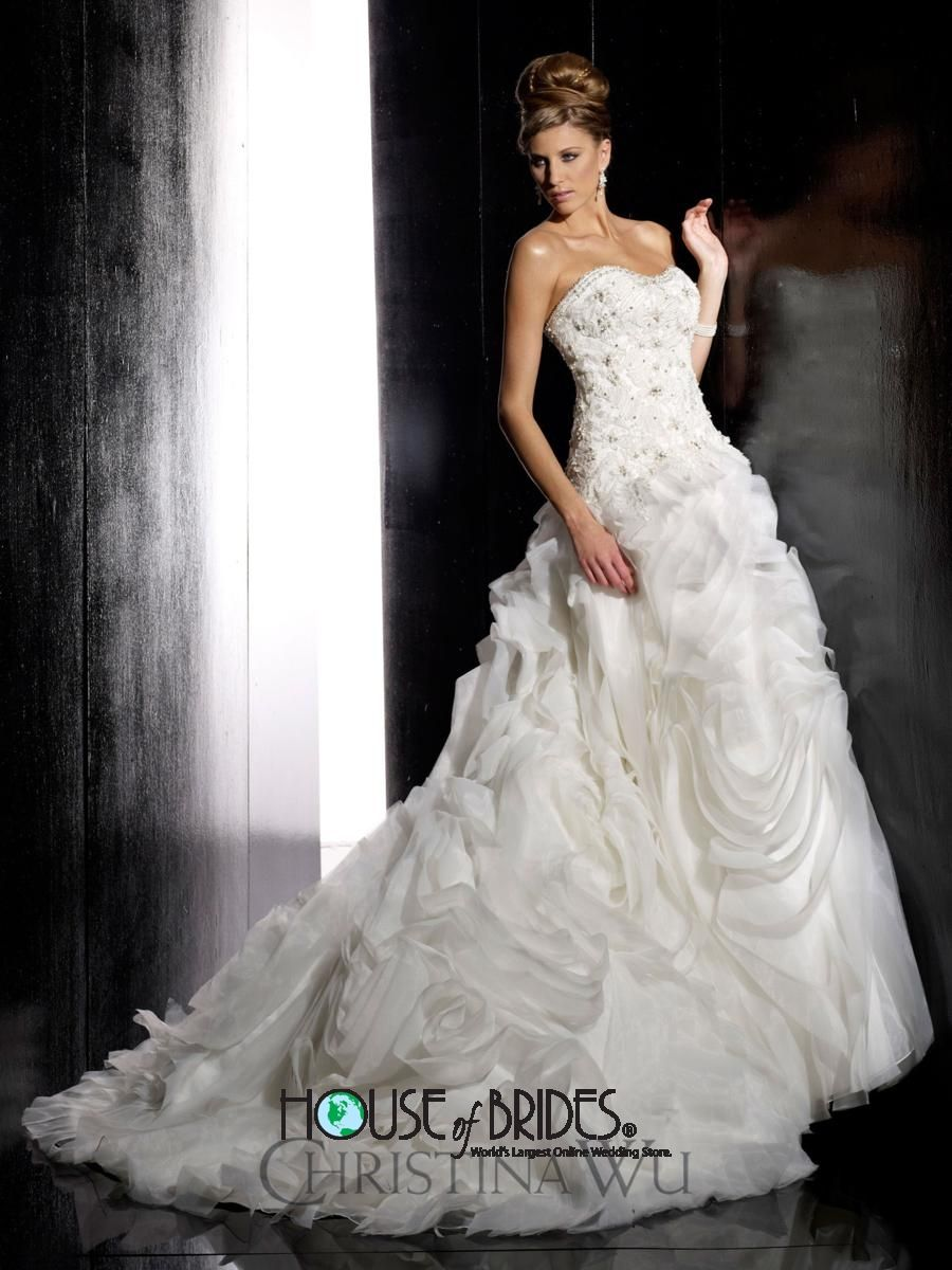 Love! christina wu wedding dress style 15498 | house of brides
