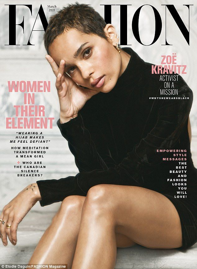 Zoe Kravitz discusses sexual harassment in Hollywood #zoekravitzstyle