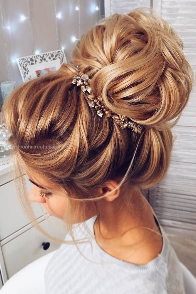 Wedding hairstyles for long hair are huge in number, which makes ...