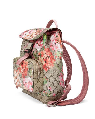 fc8f53e3c77 Gucci Floral Backpack   Bag Lady in 2019   Pinterest   Gucci ...
