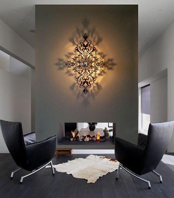 applique lumineuse design ombre port e imperatrice. Black Bedroom Furniture Sets. Home Design Ideas