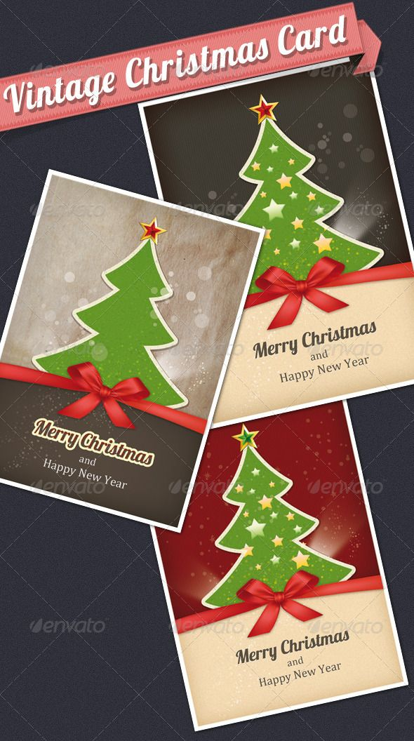 Vintage Christmas Card Christmas Card Template Vintage Christmas Cards Christmas Cards