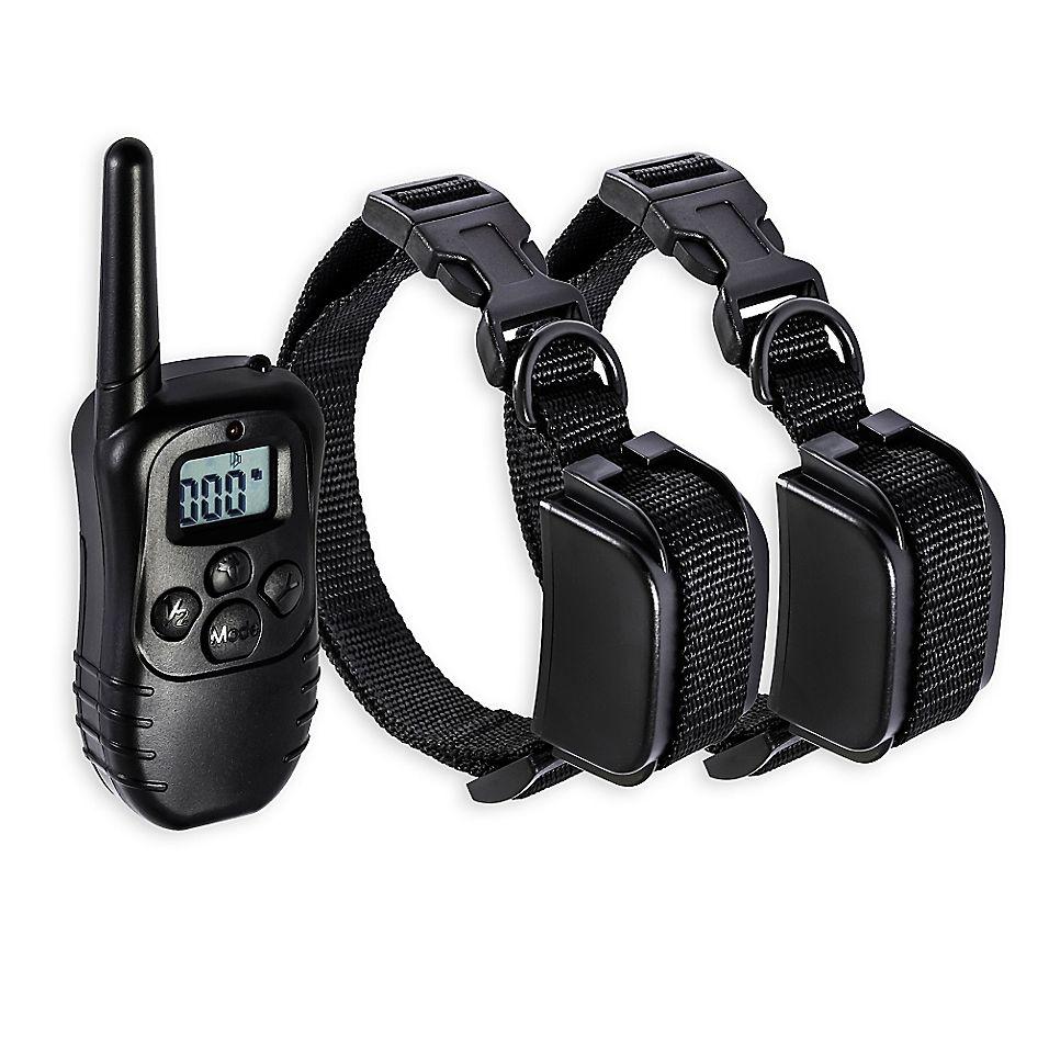 Oxgord 330 Yard Remote Dog Trainer Black Training Collar Dog