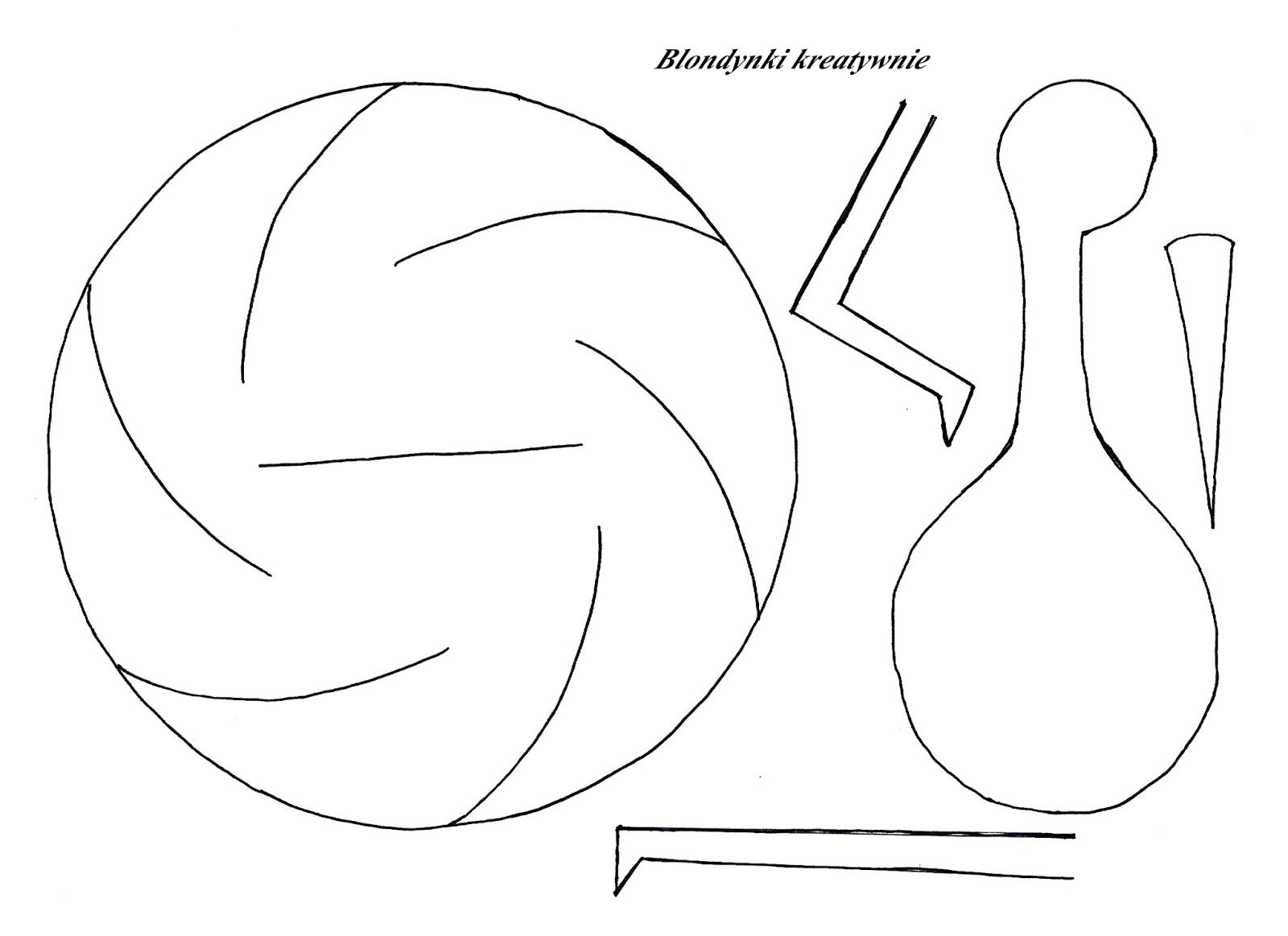 Wirujacy Bocian Szablon Do Pobrania Blondynki Kreatywnie Bird Crafts Arts And Crafts For Kids Paper Crafts