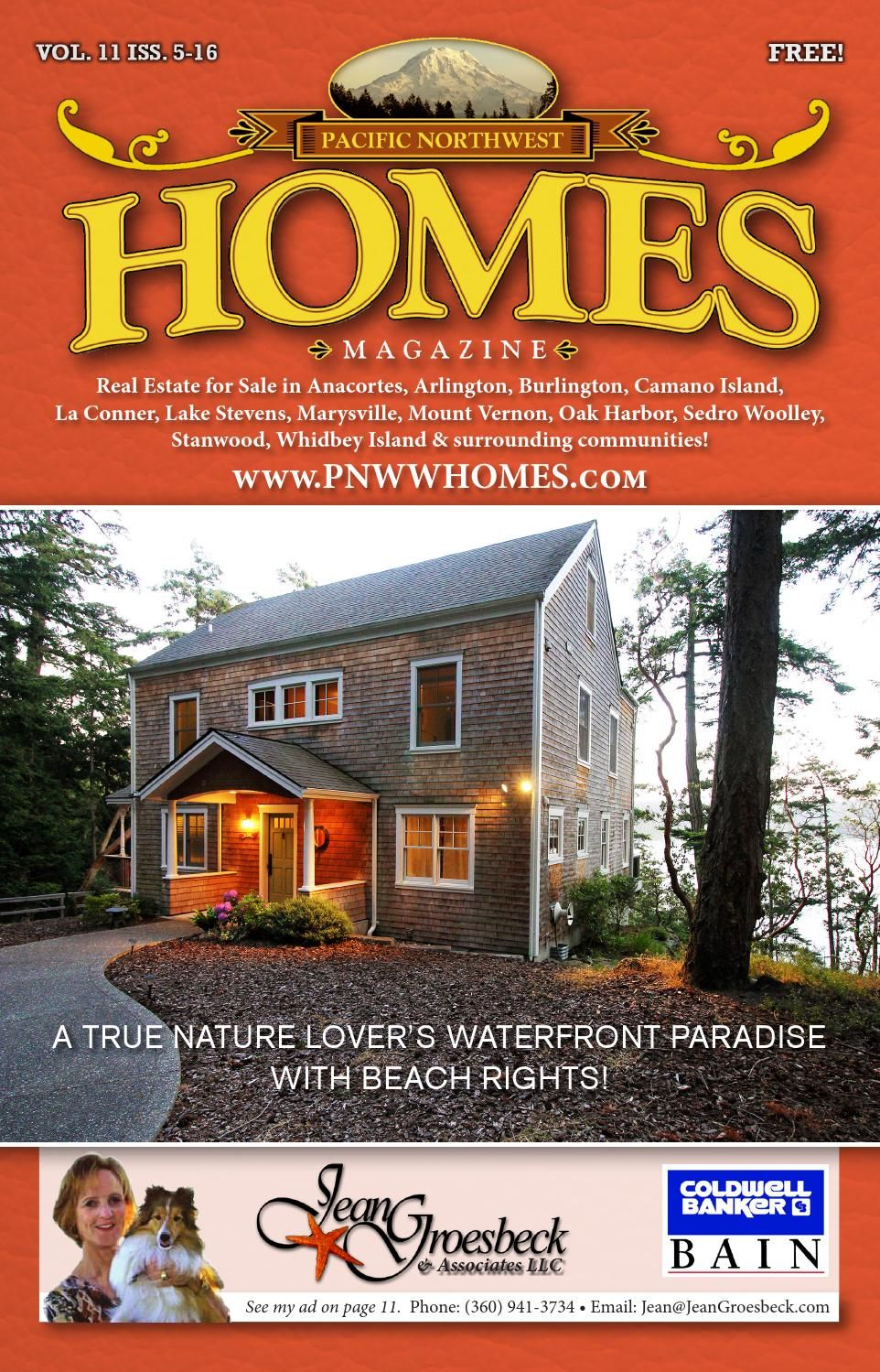 Pacific Nw Homes Skagit Island Snohomish Issue 5 16 Camano Island Retirement Locations Olympia Washington