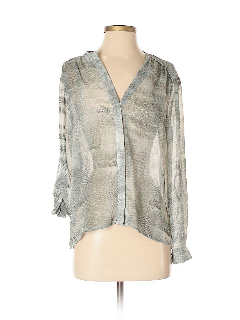 55739686 Long Sleeve Blouse in 2019   blouse   Tunic tops, Jennifer lopez, Blouse