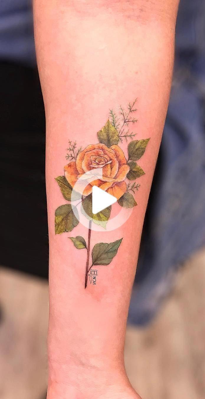 37 Beautiful Flower Design Wrist Tattoos – Wrist Designs