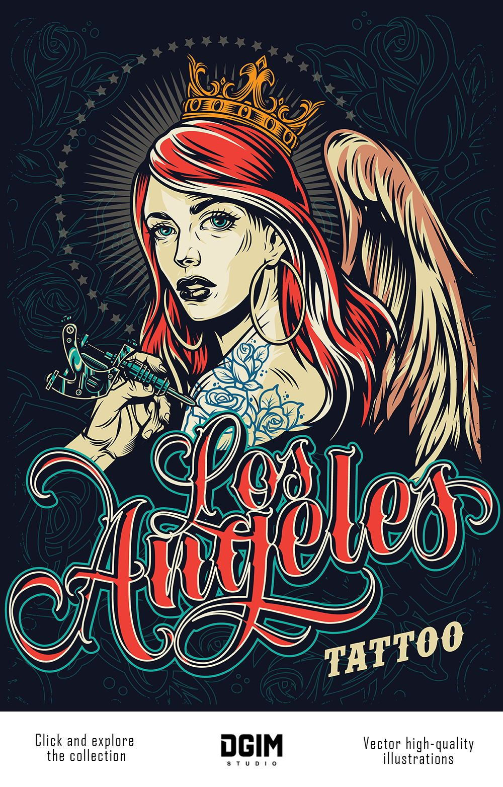 60 Chicano Vector Designs In 2020 Tattoo Posters Vector Illustration Illustration