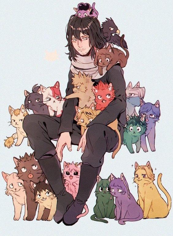 Cat Cute Cat Aizawa Shouta