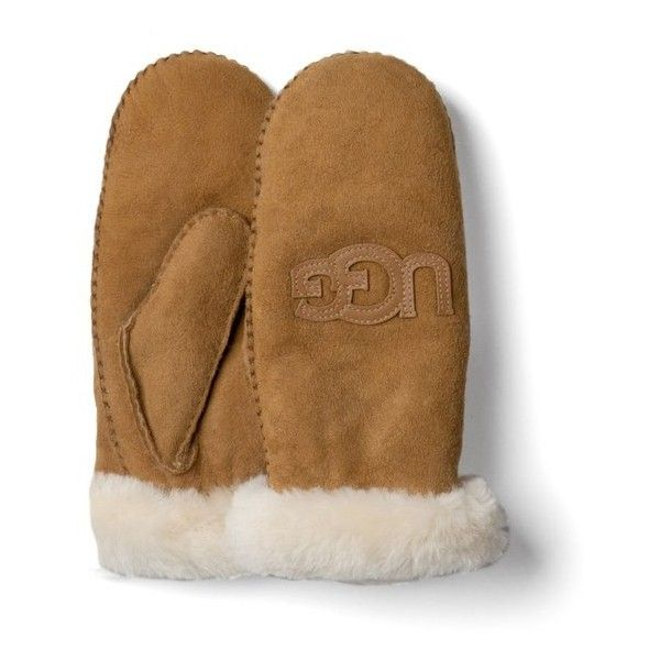 UGG Australia Women's Classic Collection Heritage Logo Mittens -... (195  BAM)