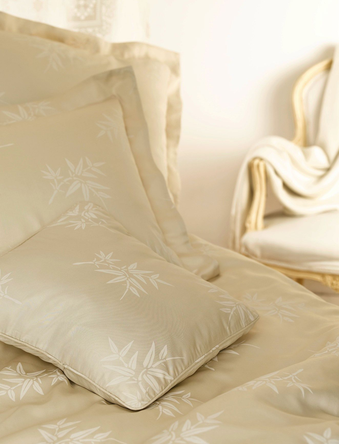 100 Bamboo Bed linen in Almond Bamboo sheets bedding