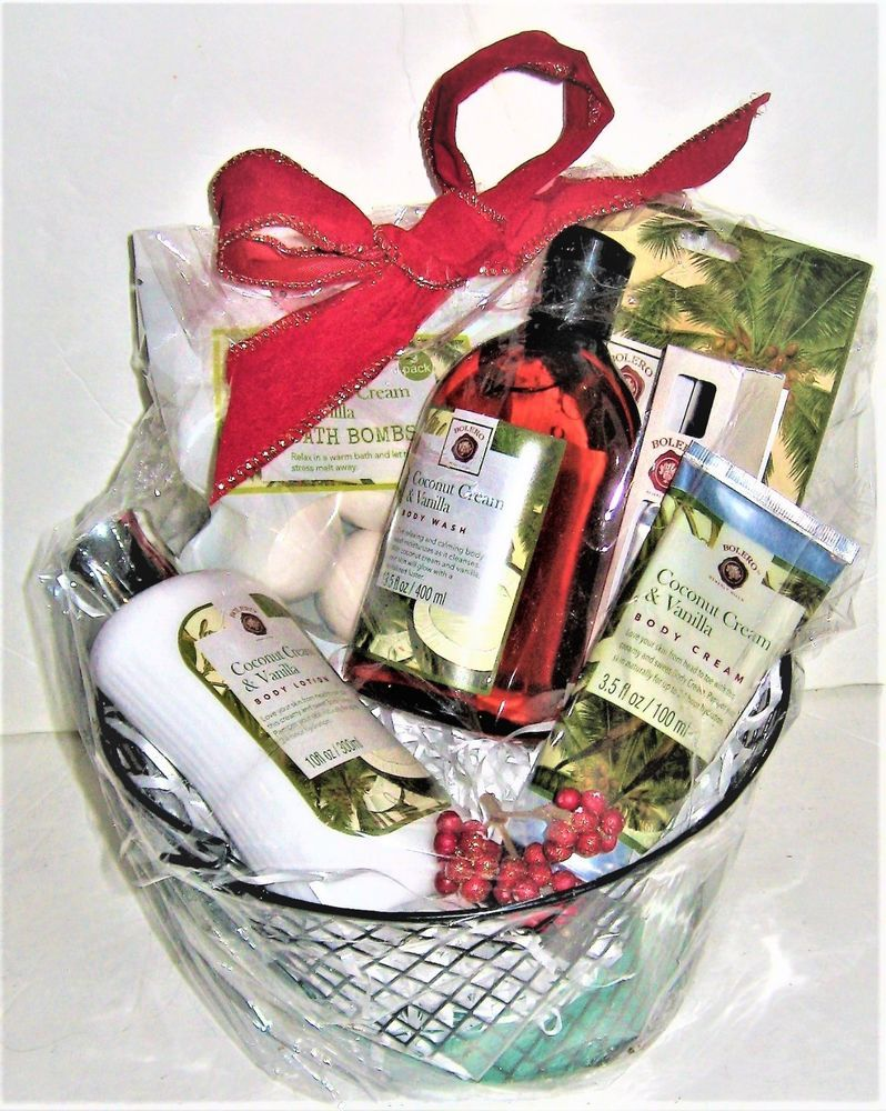Details about sale bathbody works christmas gift basket