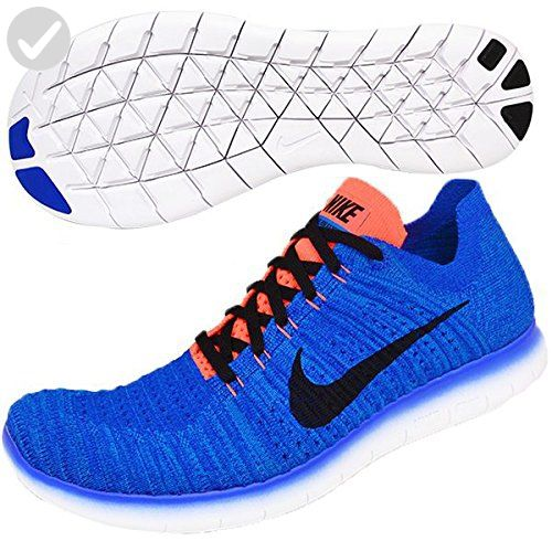f0407aa764b7 Nike Mens Free Run Flyknit Running Shoes Racer Blue Black Crimson 831069-405  Size 11 - Mens world ( Amazon Partner-Link)