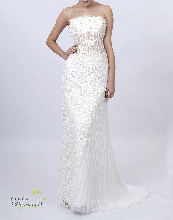 Mandy Wedding Gown Women By Pandaandshamrock On Etsy Panda Shamrock