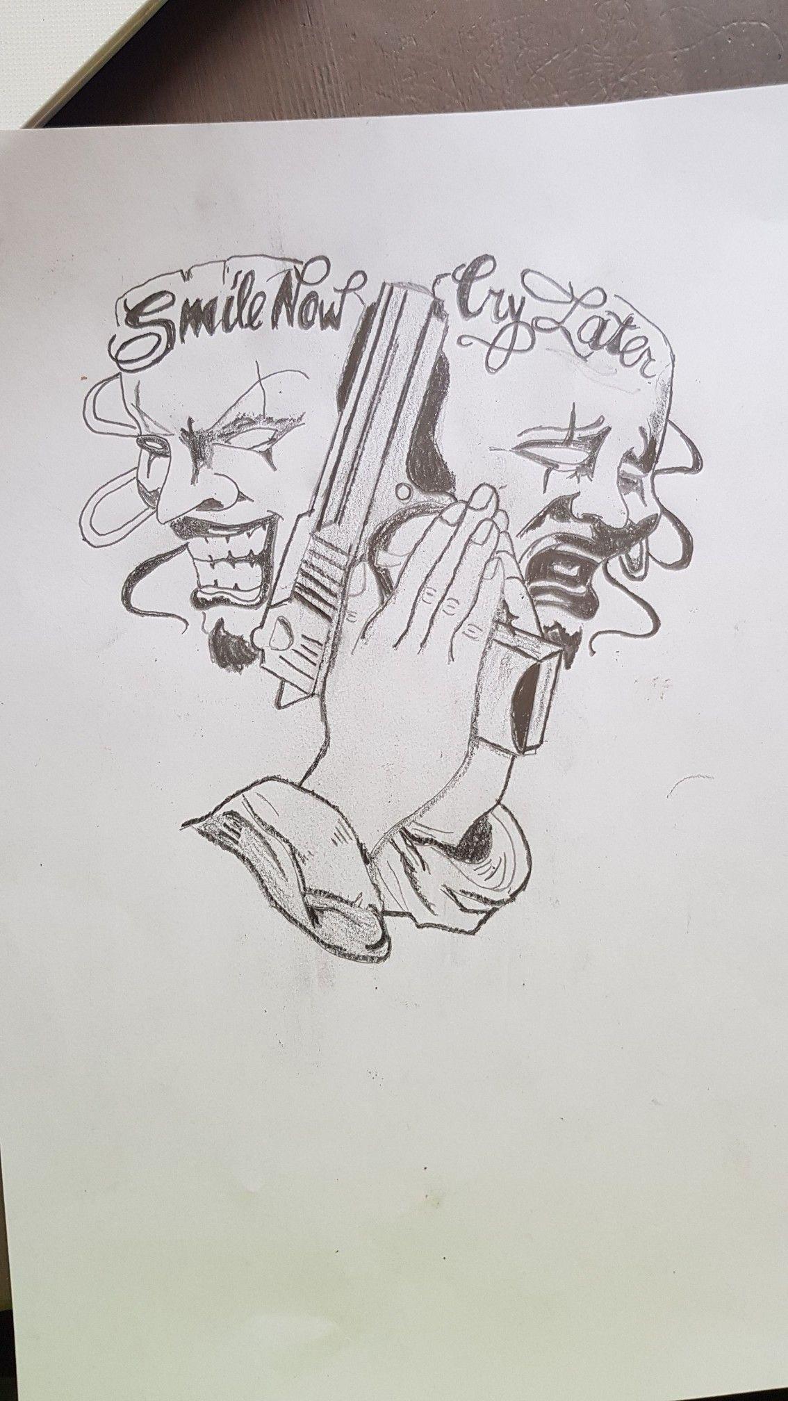 Desenho Palhaço Tatuagem pin de harley jayy em ♥tattoos♥ | tatuagem de palhaço