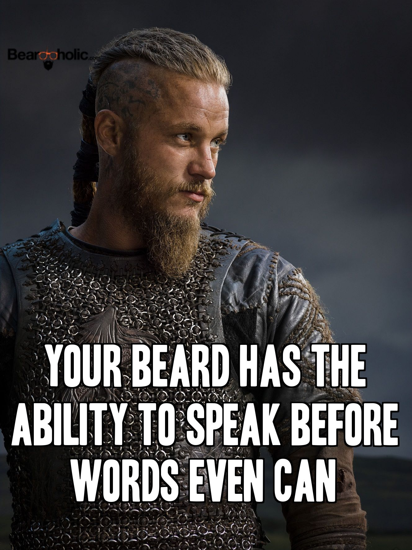Your Beard Has The Ability To Speak Before Words Even Can