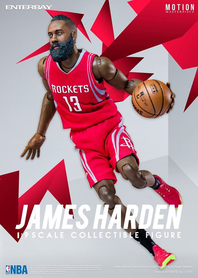 James Harden (Houston Rockets) 1 9th Scale 8