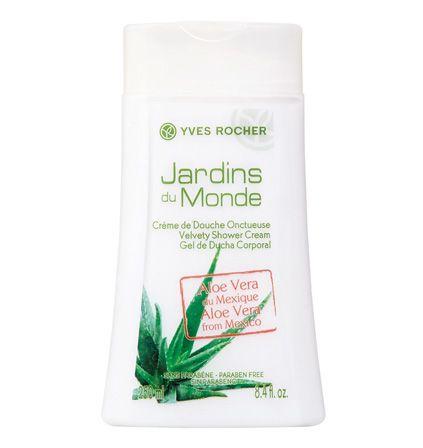 Velvety Shower Cream Aloe Vera From Mexico Creme De Douche
