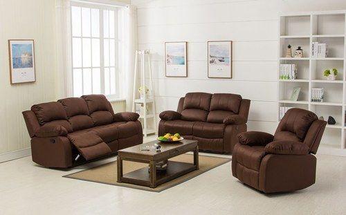 Veria Recliner With Console In Dark Brown Odds Ends Kenya Recliner Best Online Furniture Stores Recliner Chair