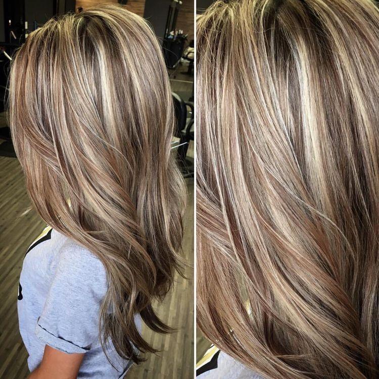 Nieuw Blond haar en lowlights. #Lowlights #Highlights #Kapsel #Kapsels RV-86