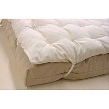 Refresh You Lumpy Guest Futon With This All Organic Wool Mattress Topper Although