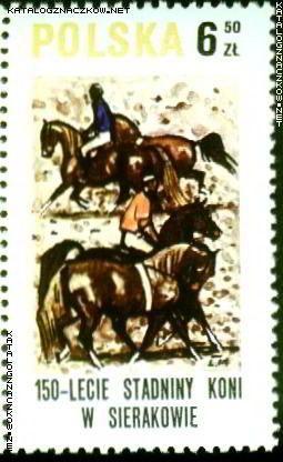 znaczki pocztowe z końmi