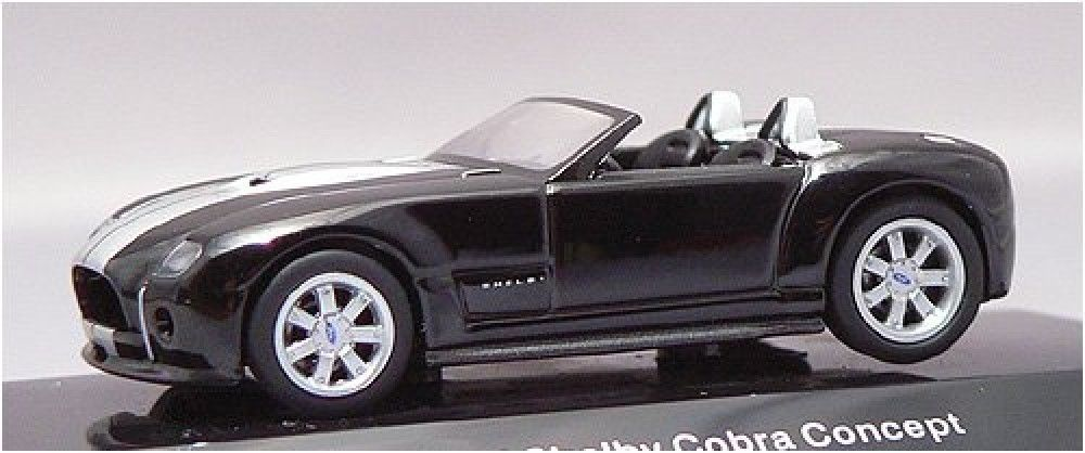 F/S AUTOart FORD SHELBY COBURA CONCEPT 2004 BLACK/SILVER 20542 1/64 Model Car #AUTOart #SHELBY