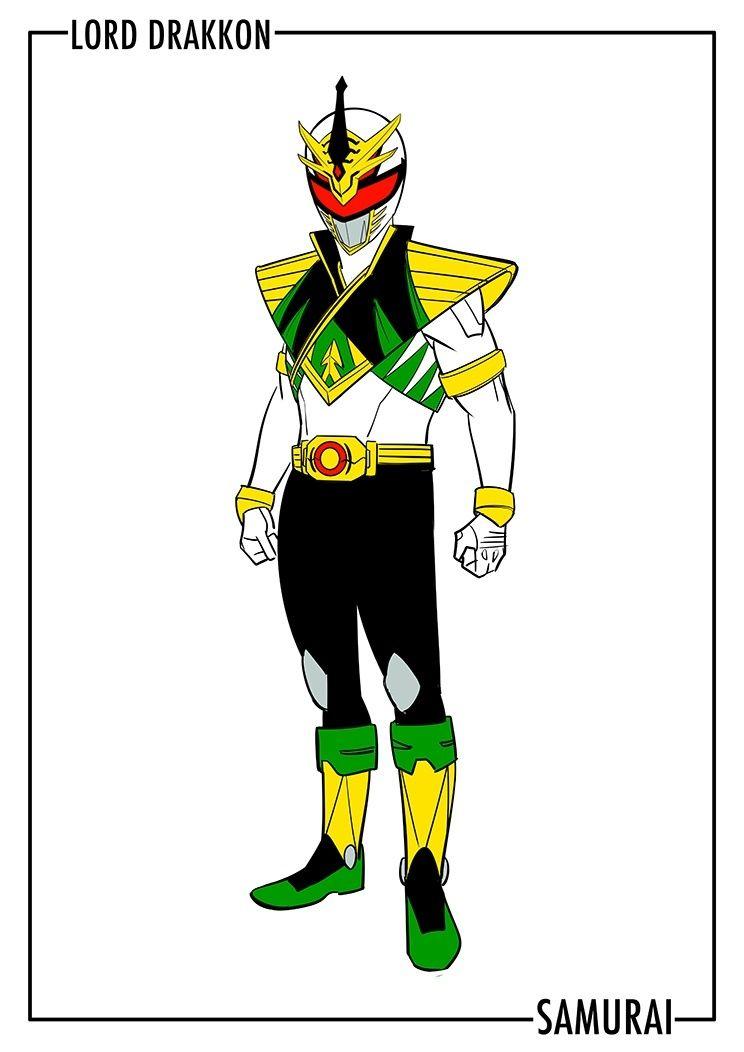 Full Look At Lord Drakkon\'s Upgraded Costume | Super sentai/power ...